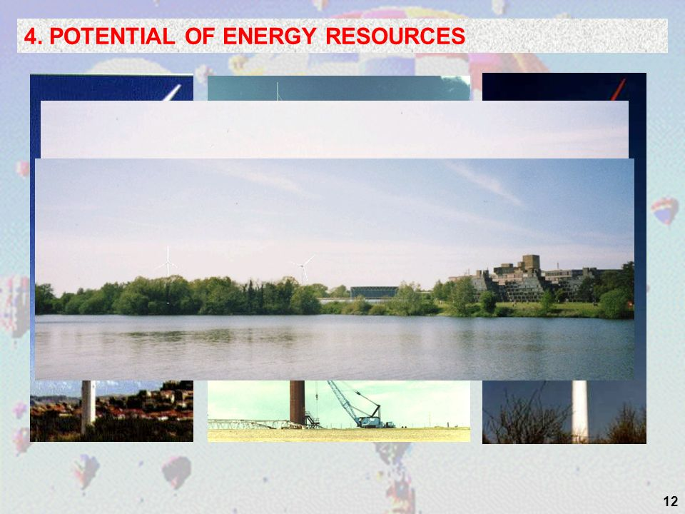12 4. POTENTIAL OF ENERGY RESOURCES