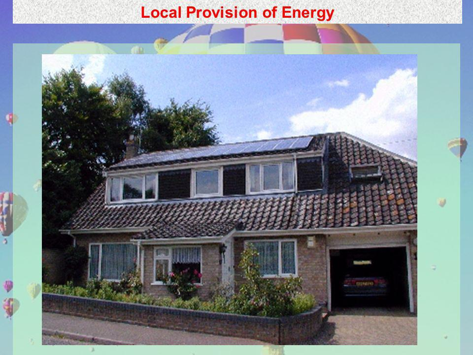 10 Local Provision of Energy