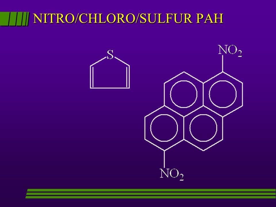 NITRO/CHLORO/SULFUR PAH