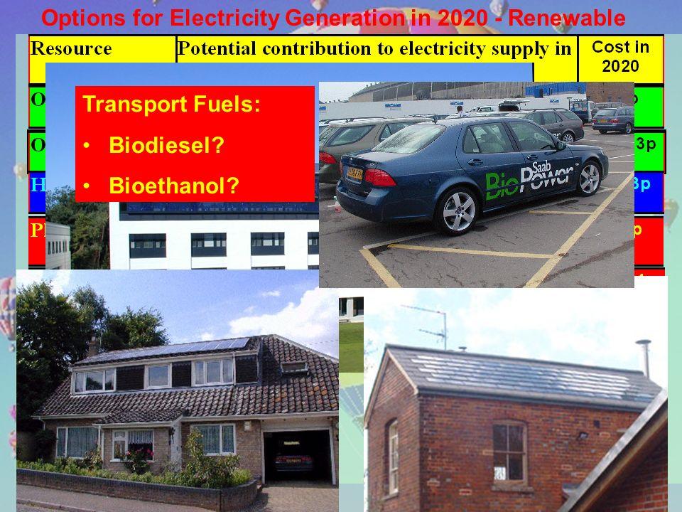 Transport Fuels: Biodiesel Bioethanol