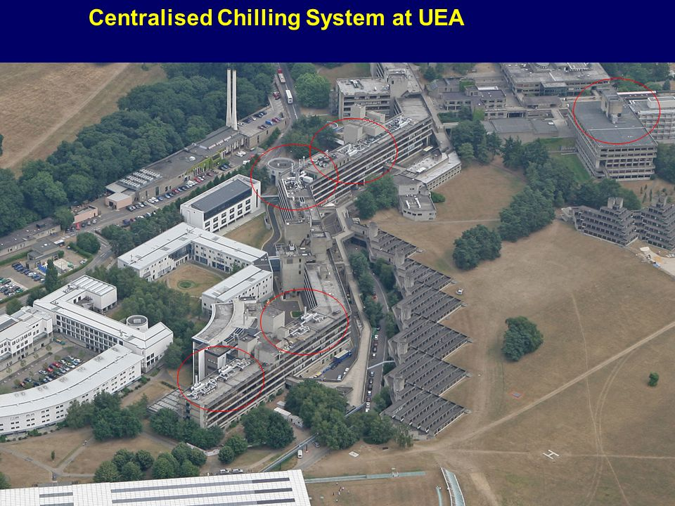 29 Centralised Chilling System at UEA