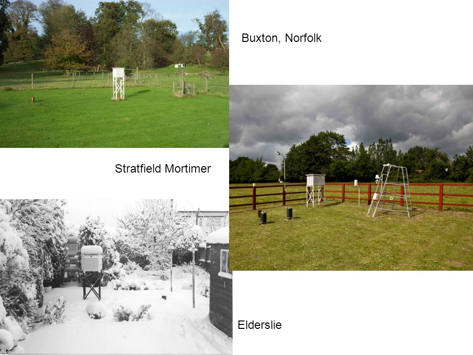 Buxton, Norfolk Stratfield Mortimer Elderslie