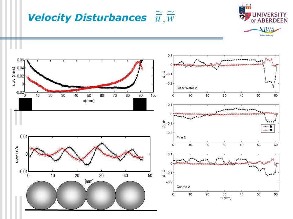 Velocity Disturbances