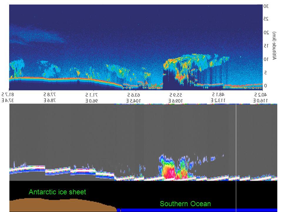 Antarctic ice sheet Southern Ocean