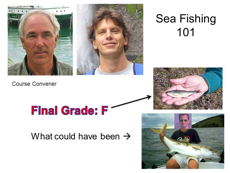 Sea Fishing 101 Course Convener