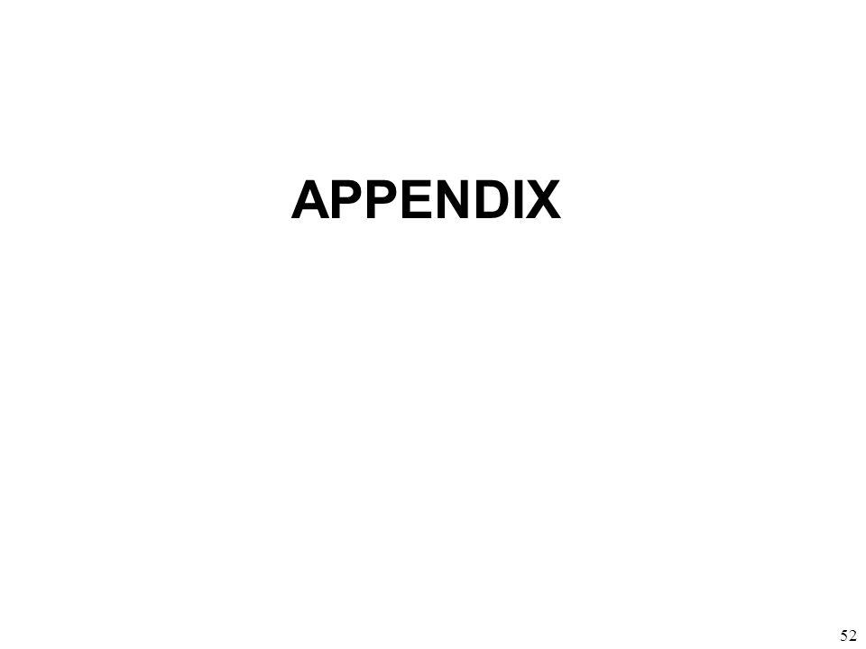 52 APPENDIX