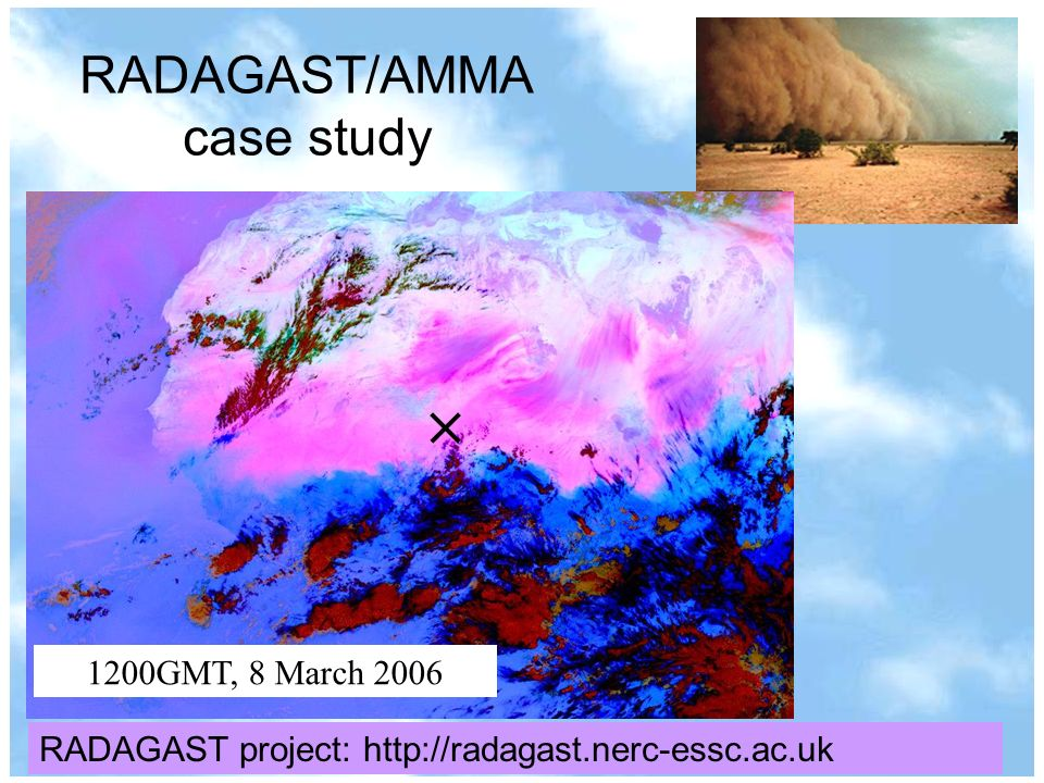 r.p.allan@reading.ac.uk© University of Reading 2007www.nerc-essc.ac.uk/~rpa RADAGAST/AMMA case study 1200GMT, 8 March 2006 RADAGAST project: http://radagast.nerc-essc.ac.uk
