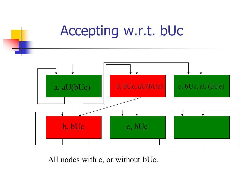 Accepting w.r.t.