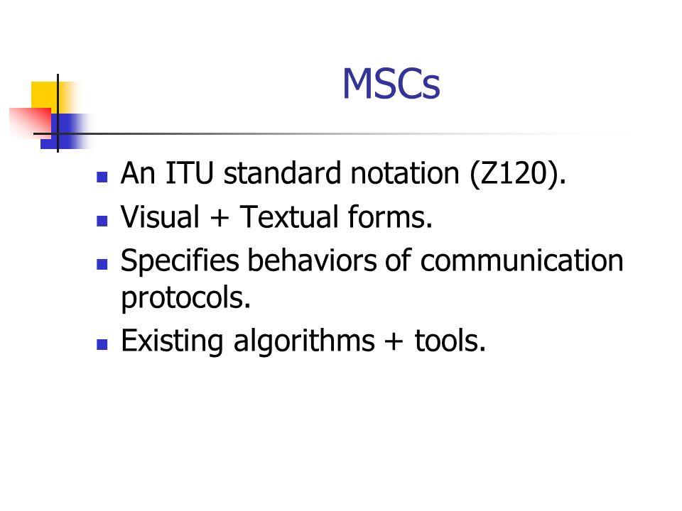 MSC visual notation P1P3P2 M1 M2 M3 M4 M5 M6