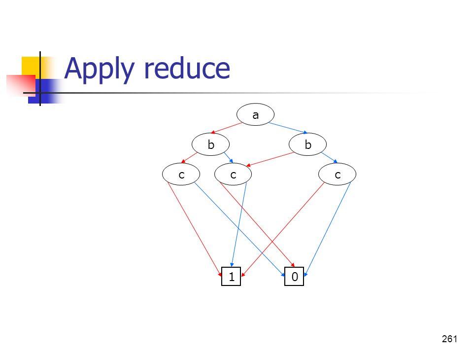 261 Apply reduce a bb ccc 01