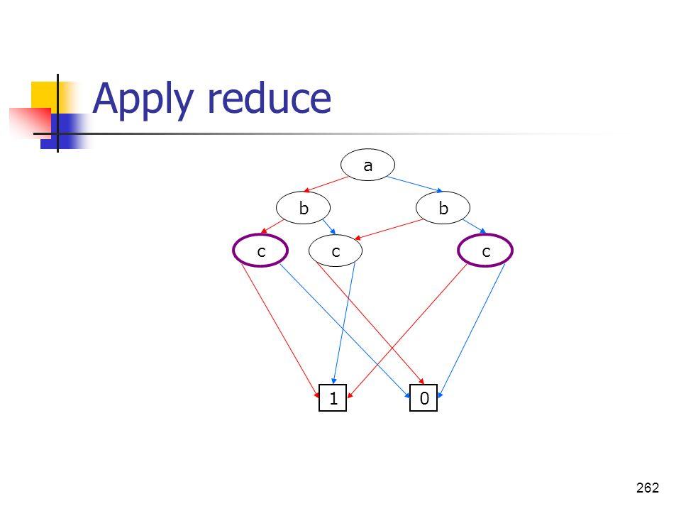 262 Apply reduce a bb c c c 01