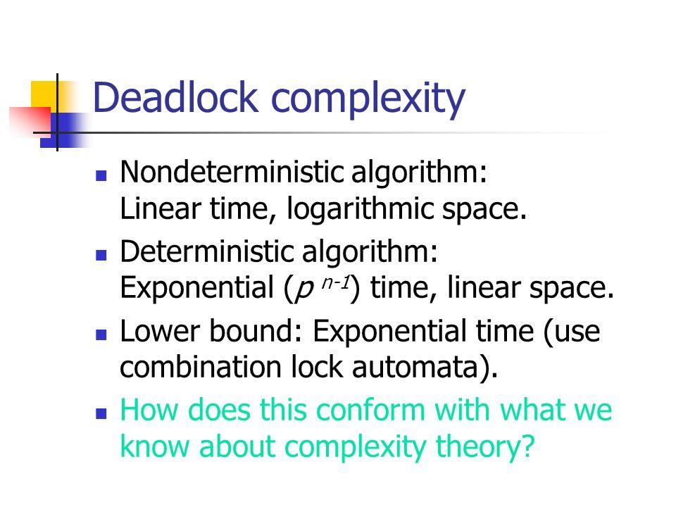 Simpler problem: deadlock.