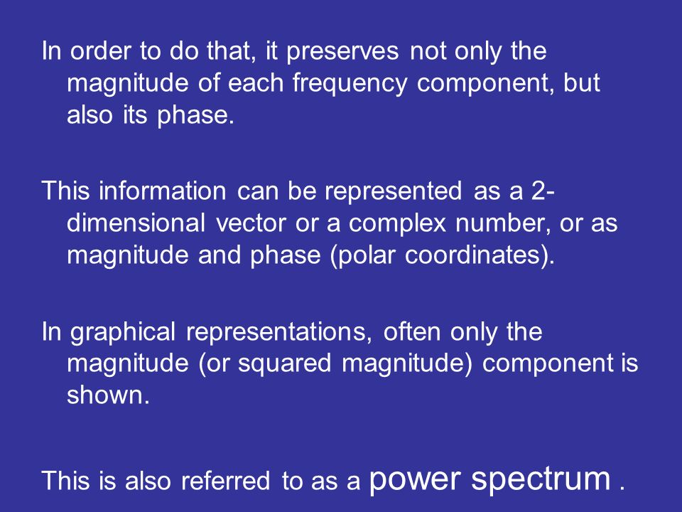 Power spectrum for white noise Noise is a stochastic process x(t), for time t (discrete or continuous) Most noisy noise should have no memory, which impliese that E x(t)x(t+s) = 0 if s is not zero E x(t)x(t) = 1 or in another words E x(t)x(t+s) = (s)