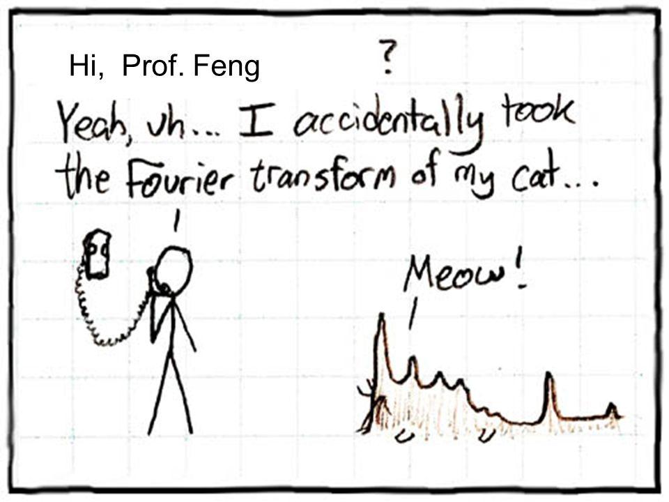 Hi, Prof. Feng
