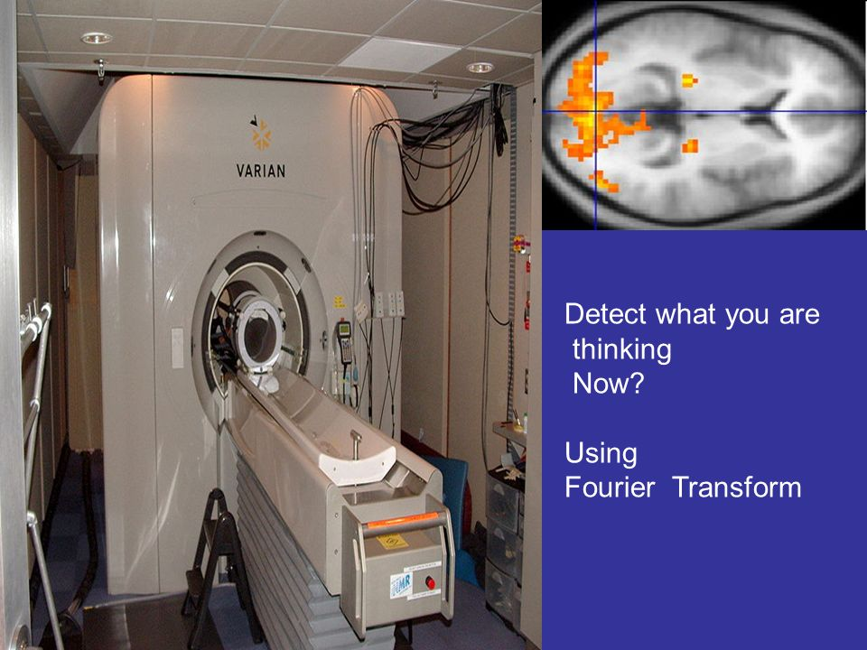Detect what you are thinking Now Using Fourier Transform