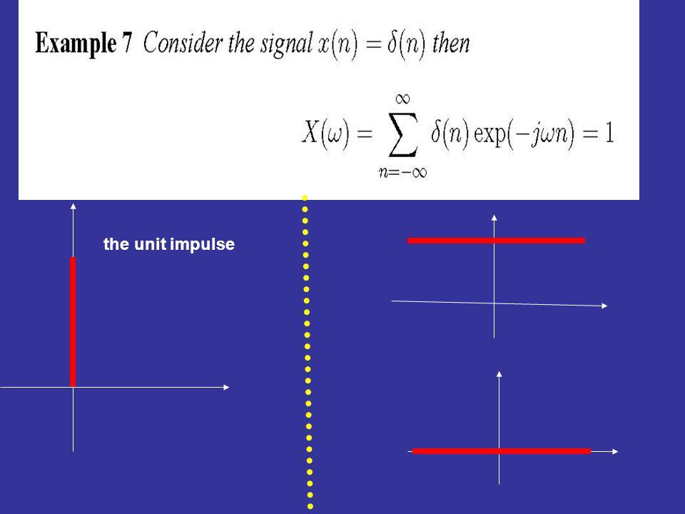 the unit impulse