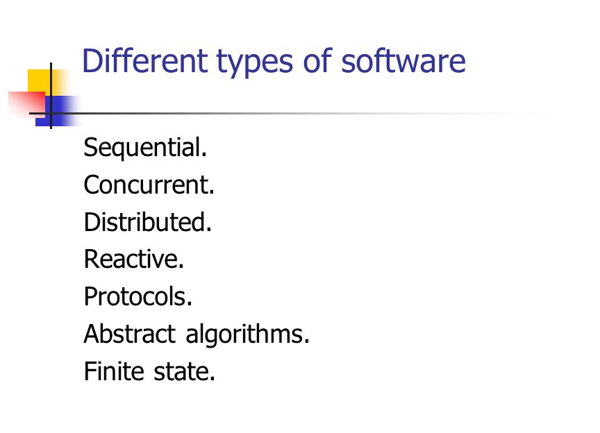 Things to do Check the kind of software to analyze.