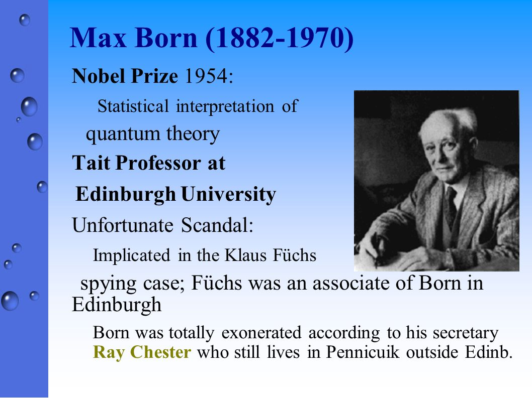 Nicholas Kemmer (1911-1998) Tait Professor of Mathematical Physics at Edinburgh ETH (Zurich): An associate of Wolfgang Pauli Kemmer Equations: Pions (Yukawa) Helped me enormously in my effort to come to UK to do scientific research.