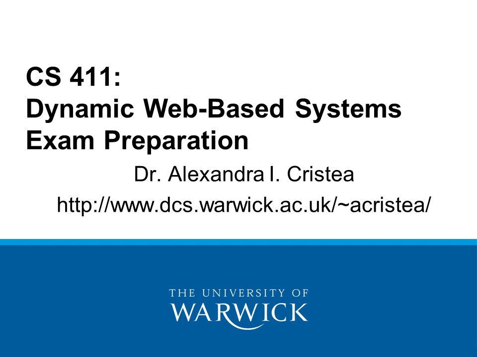 Dr. Alexandra I.