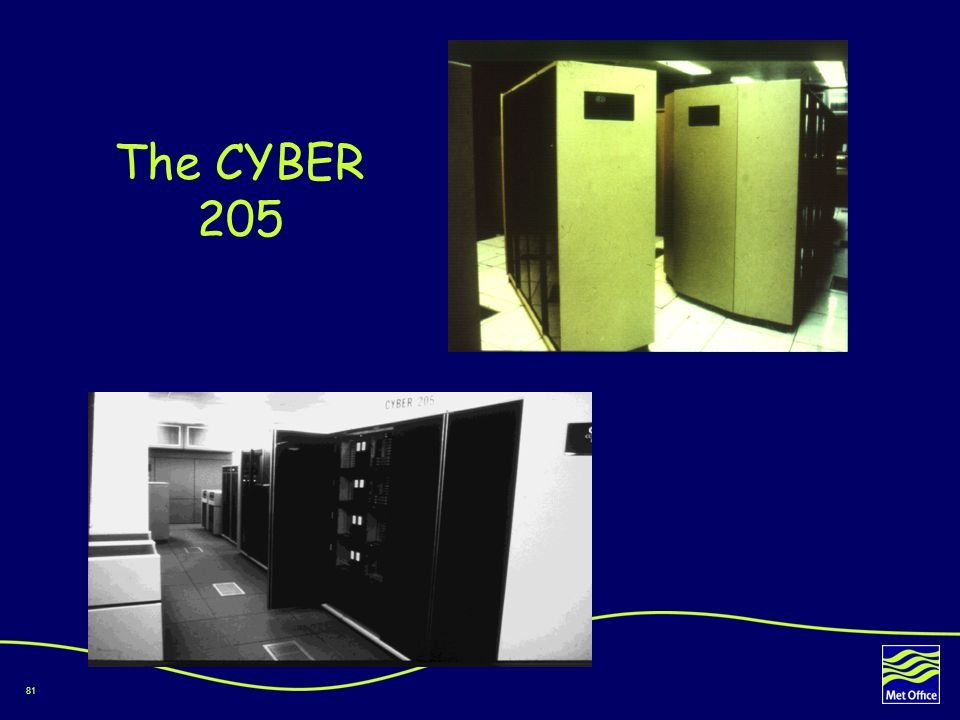 81 The CYBER 205