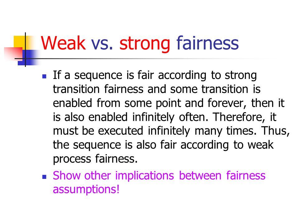 Weak vs.