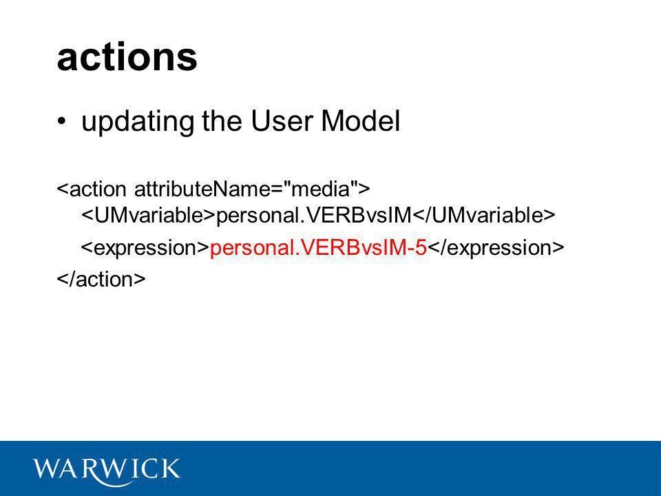 actions updating the User Model personal.VERBvsIM personal.VERBvsIM-5