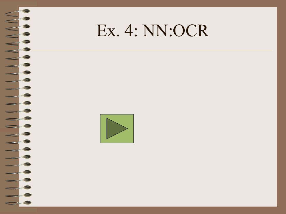 Ex. 4: NN:OCR
