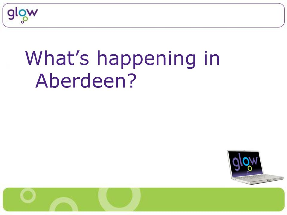 Whats happening in Aberdeen