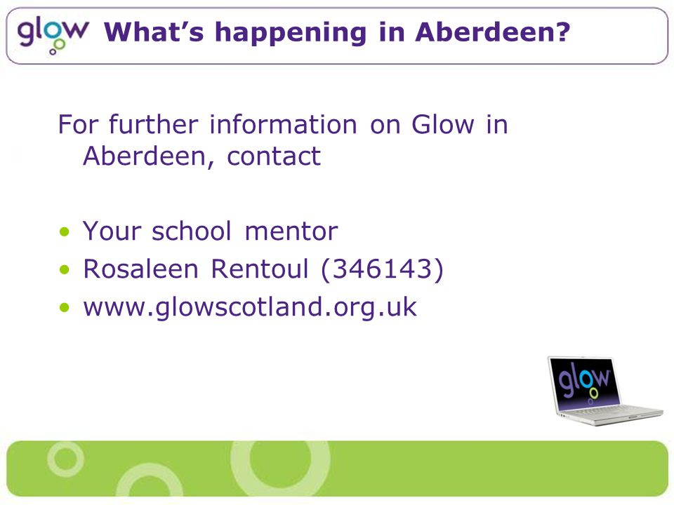 Whats happening in Aberdeen.
