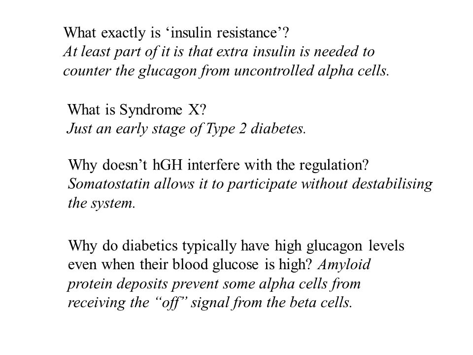 What exactly is insulin resistance.