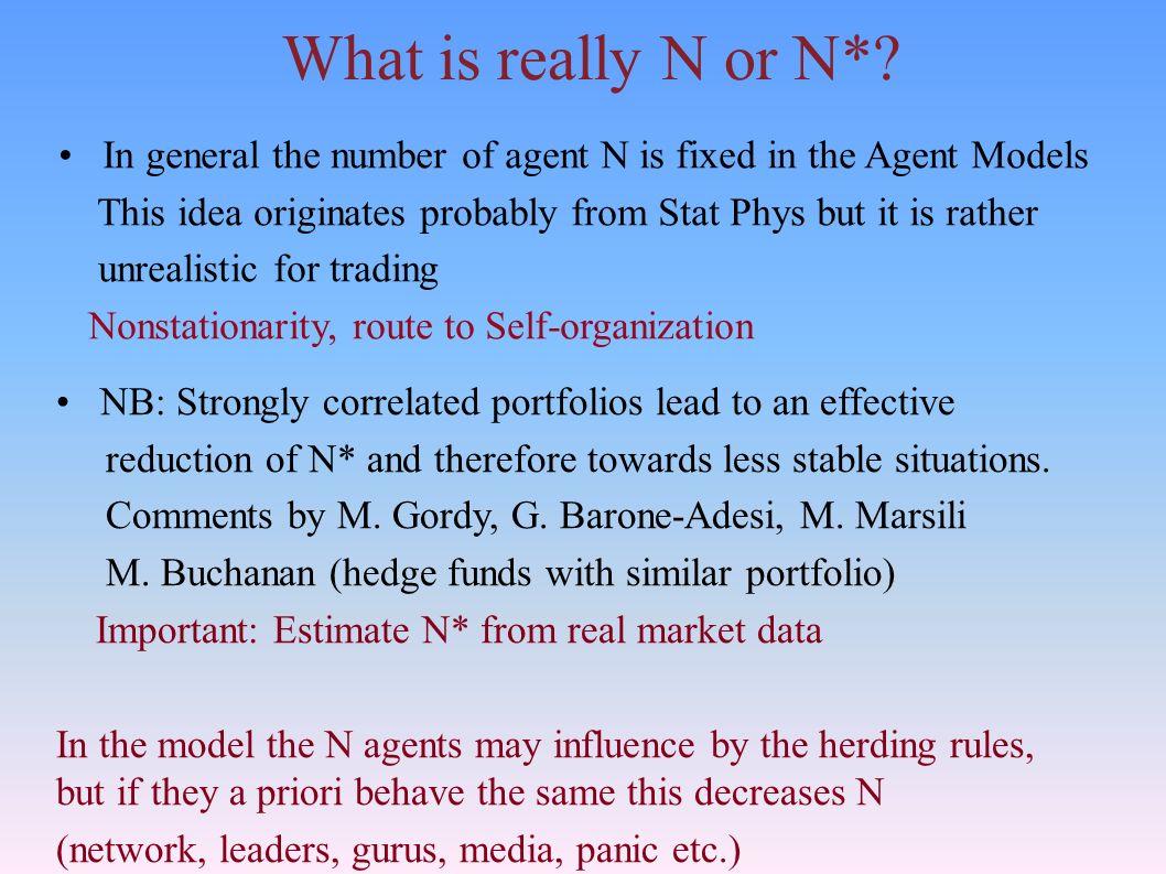 What is really N or N*.
