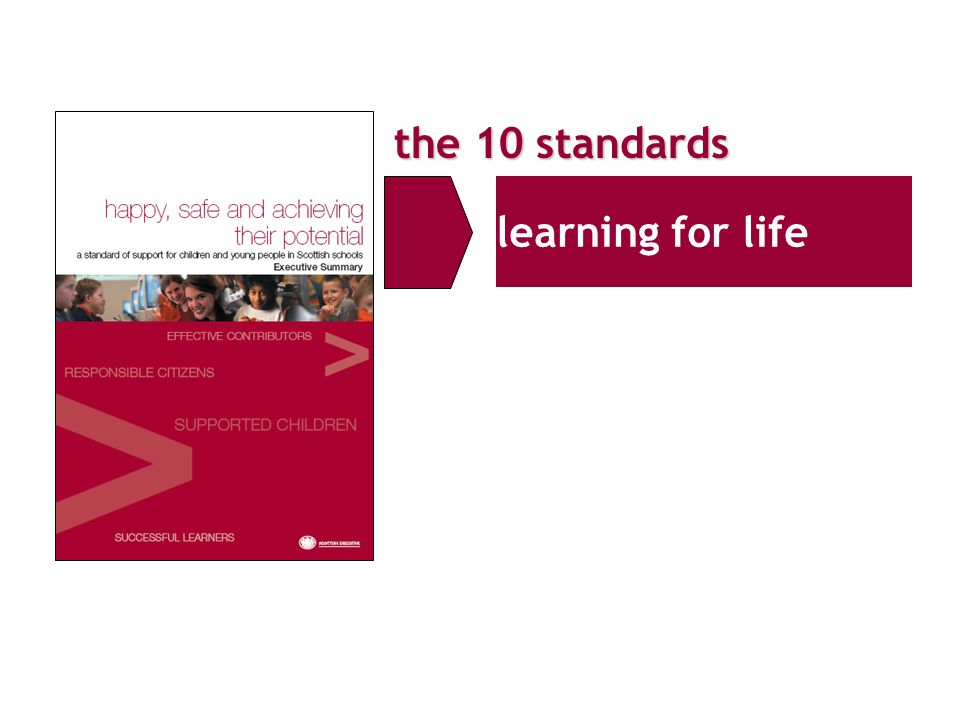 the 10 standards learning for life