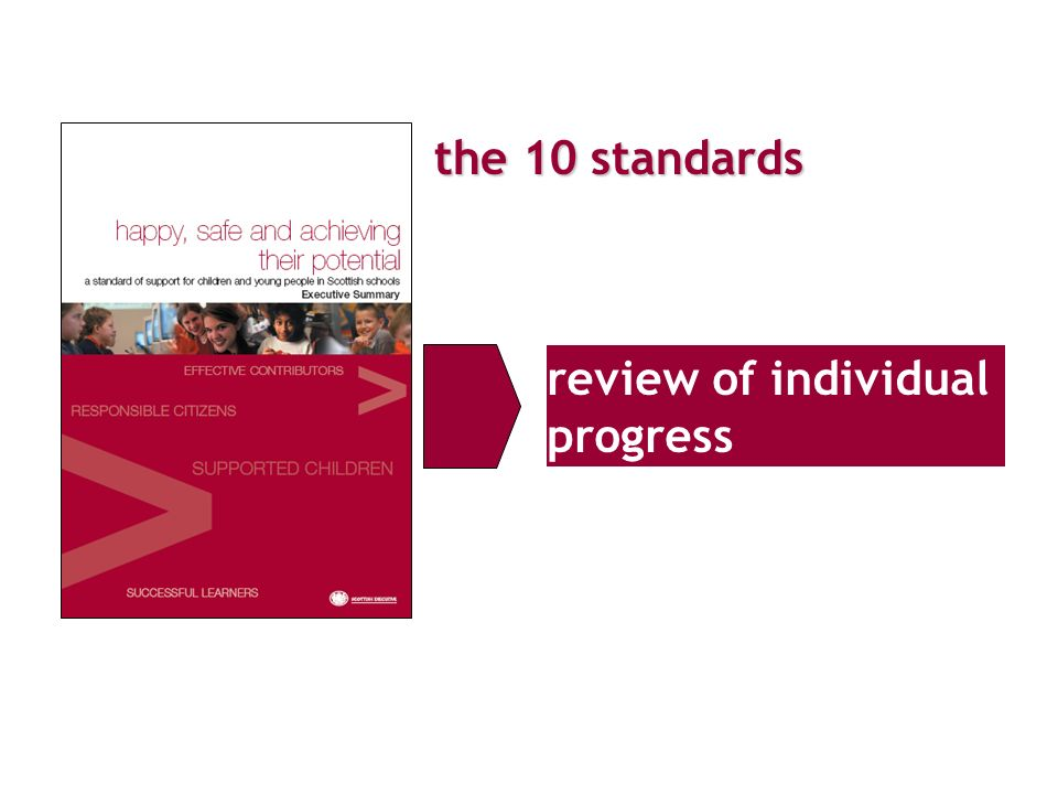 the 10 standards review of individual progress