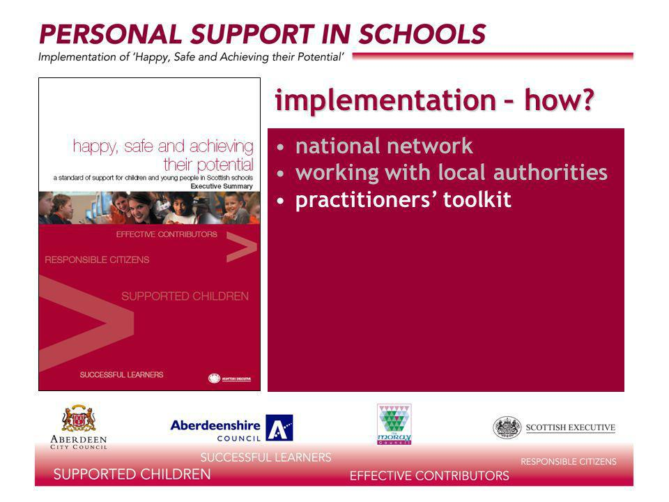 implementation – how national network working with local authorities practitioners toolkit