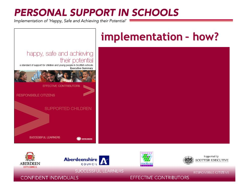 implementation – how?