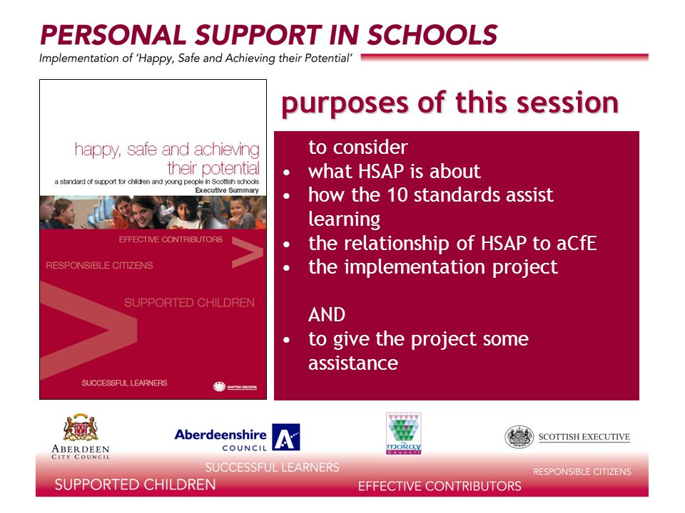 what would they be doing in personal support? an excellent school