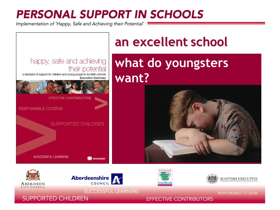 an excellent school what do youngsters need?