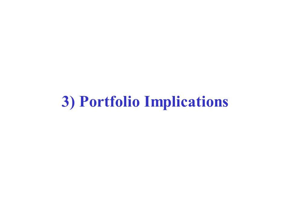 3) Portfolio Implications