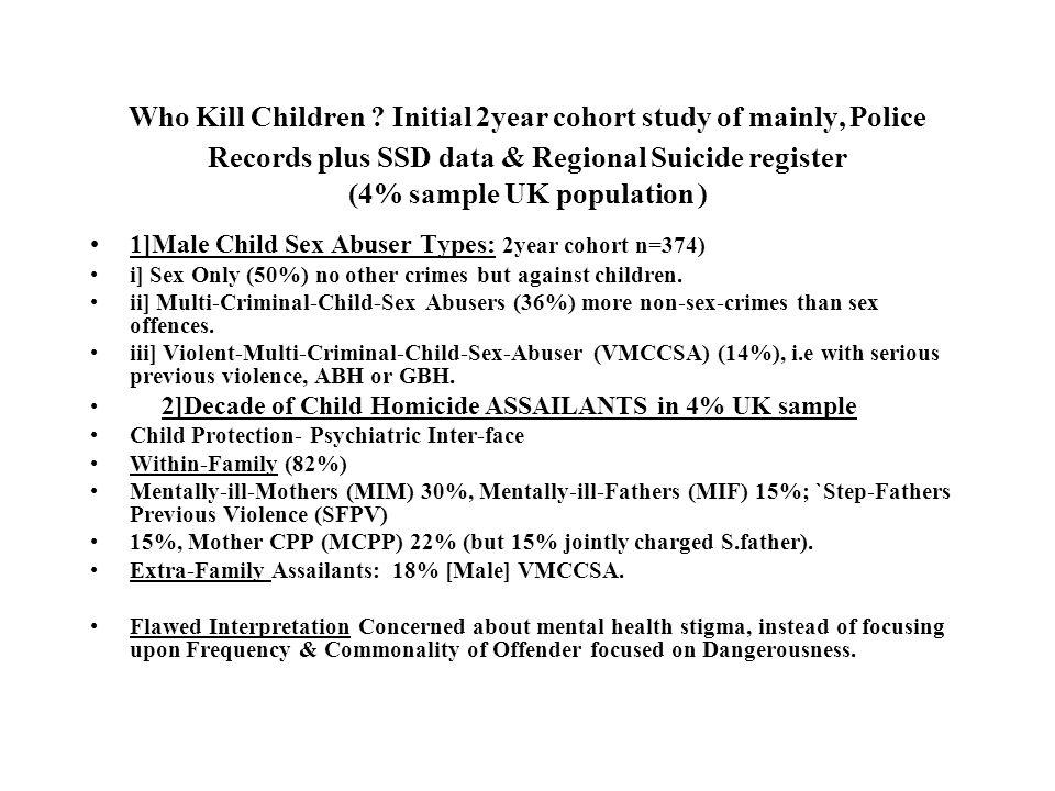 Who Kill Children .