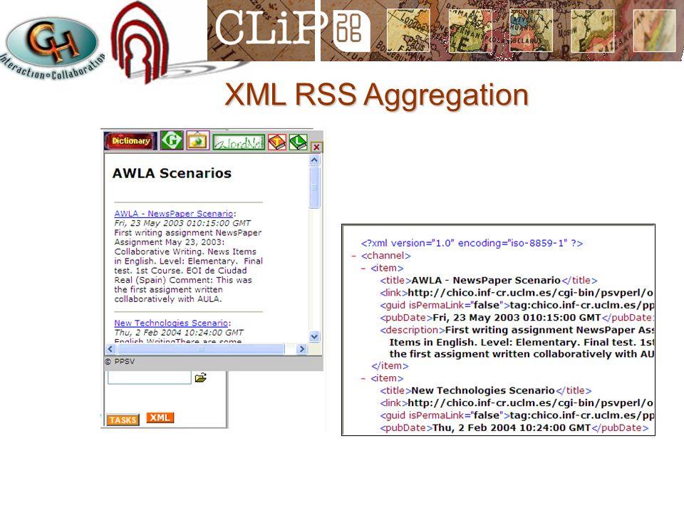 XML RSS Aggregation