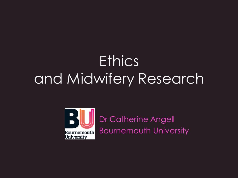 Aims To explain the origins of modern ethical thinking To describe the system of ethical governance in the UK To introduce the main ethical research issues To provoke discussion around ethical dilemmas