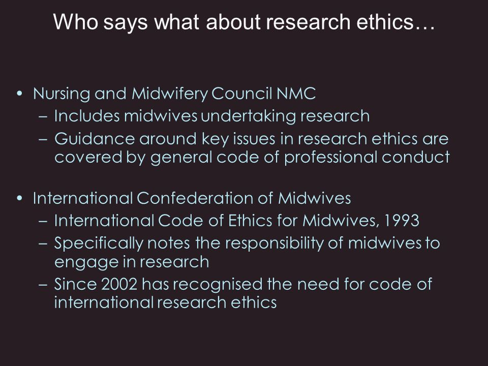 Midwifery research Why do we need it.
