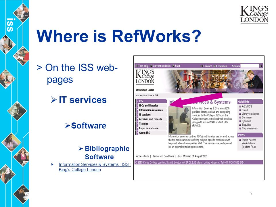 7 Where is RefWorks.