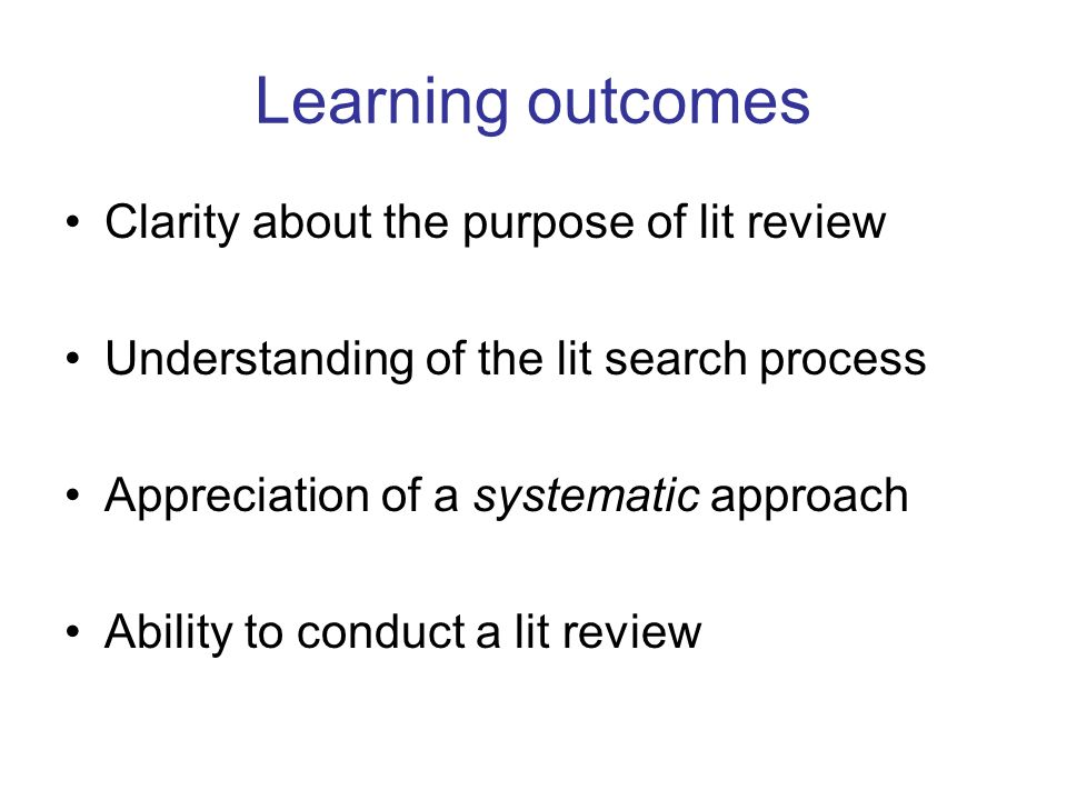 systematic literature review articles