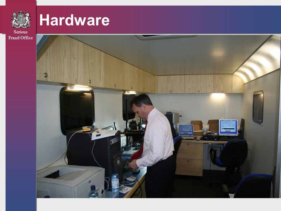 Serious Fraud Office Hardware