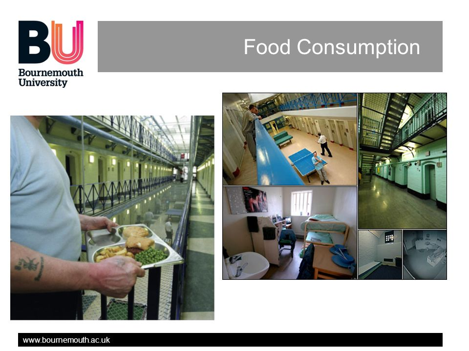 www.bournemouth.ac.uk Food Consumption