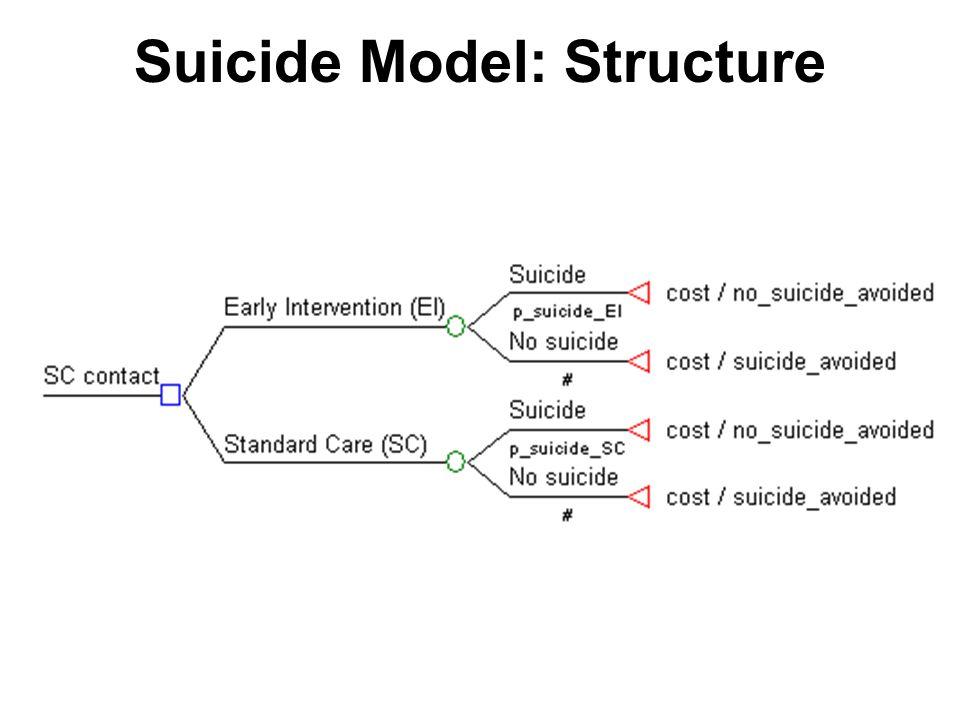 Suicide Model: Structure