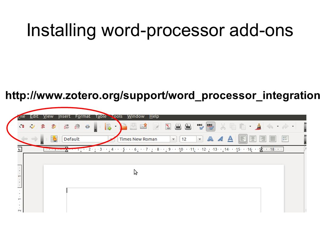 Installing word-processor add-ons http://www.zotero.org/support/word_processor_integration