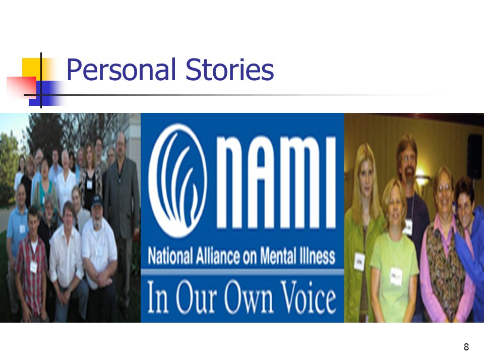 8 Personal Stories