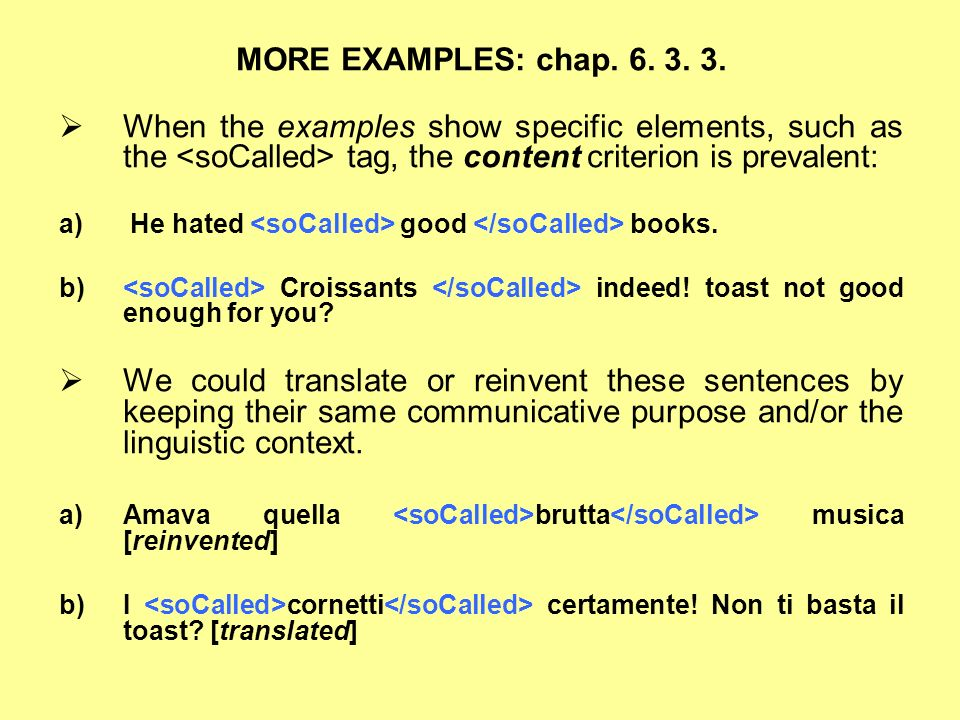 MORE EXAMPLES: chap. 6. 3. 3.